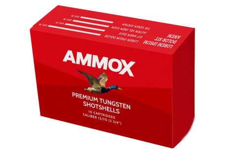 AmmoX 12/70/32g 3,0mm