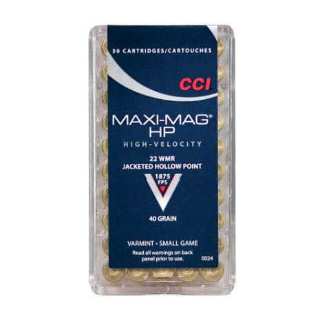 CCI 22 WMR Maxi-Mag HP
