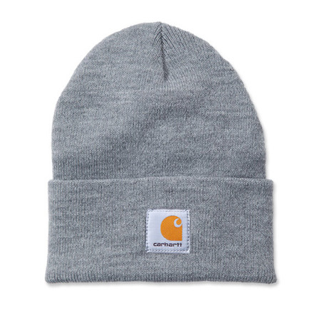 Carhartt Acrylic Watch Hat OFA Heather Gray