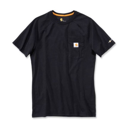 Carhartt Force Cotton T-Shirt S/S Black