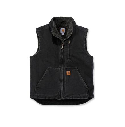 Carhartt Sandstone Mock Neck Vest Black