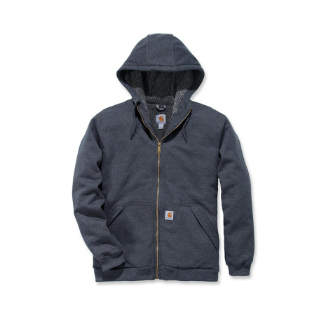 Carhartt Sherpa Lined Midweight Zip Carbon Heather