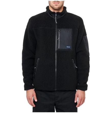 DePalma Workwear Acorage Fleece Svart
