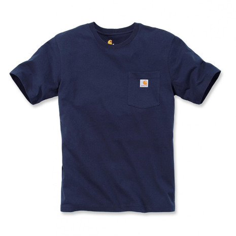 Carhartt Workwear Pocket T-Shirt S/S Navy