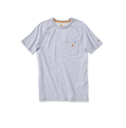 Carhartt Force Cotton T-Shirt S/S Heather Gray