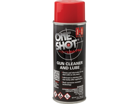 Hornady One Shot Gun-cleaner and lube