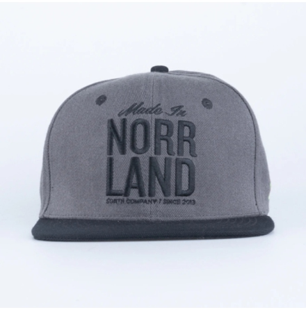 Great Norrland Made in Cap Kol/svart