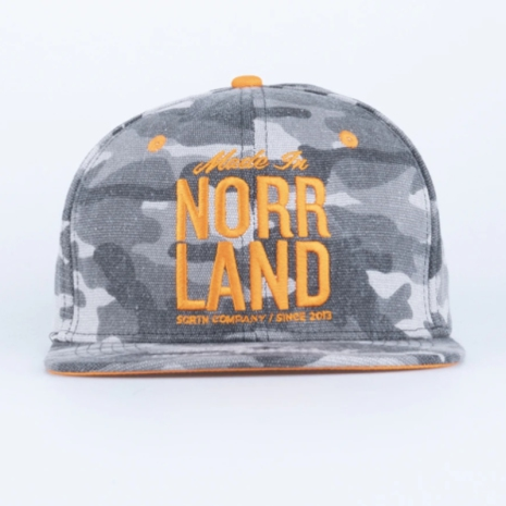 Great Norrland Made in Cap Grå Camo