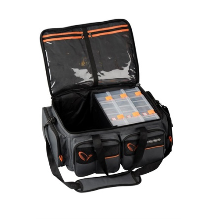 Savage Gear System Box Bag XL 3 Boxes Inkl. Regnskydd