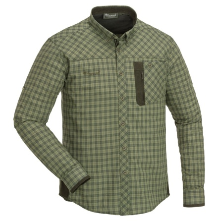 Pinewood Shirt Wolf H.Olive