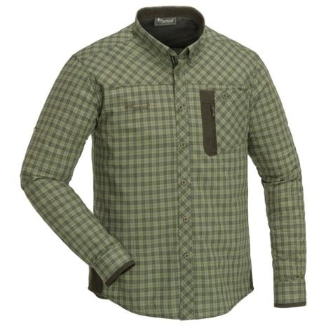 Pinewood Shirt Wolf H.Olive