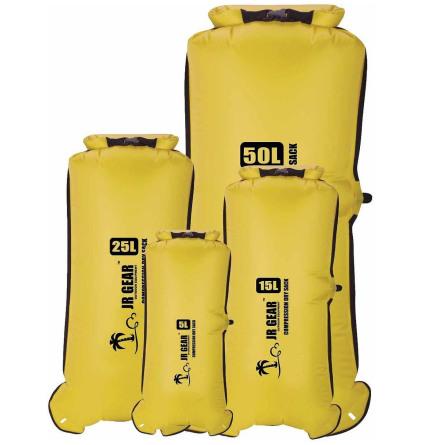 Jr Gear Comp Dry Sack m Ventil 15L Gul