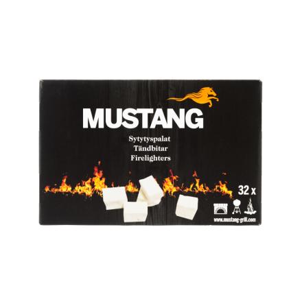 Mustang Tändklossar 32 pack