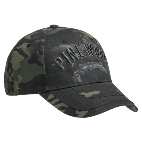 Pinewood Cap Camou Onesize Black Jungle/Black