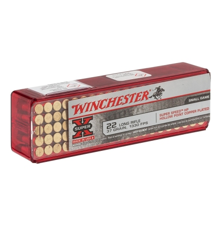Winchester 22LR Super X HP Copper plated