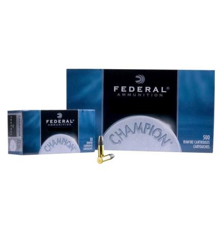 Federal .22Lr 40gr Target 500st