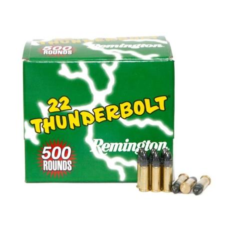 Remington .22LR Thunderbolt 500 Pack