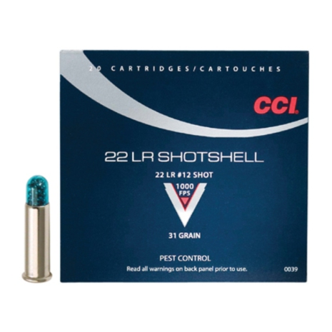 CCI 22LR Shotshell
