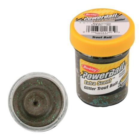 PowerBait Glitter Trout Bait Night Crawler