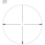 Helia 1-5x24 4-DH Kikarsikte