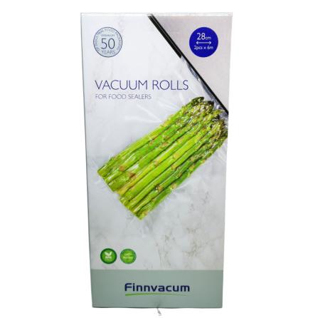 Finnvacum Vakuumrulle 28cmx6m 2st