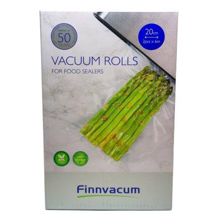 Finnvacum Vakuumrulle 20cmx6m 2st