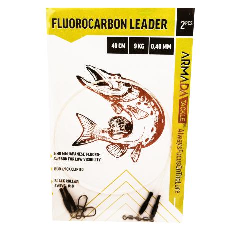 Armada Fluorocarbon Leader 40cm 0,40mm