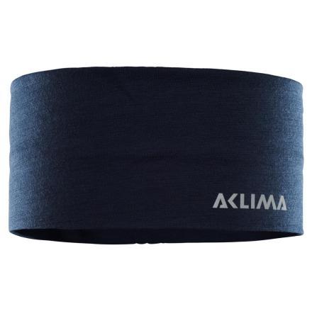 Aclima Lightwool Headband Navy Blazer