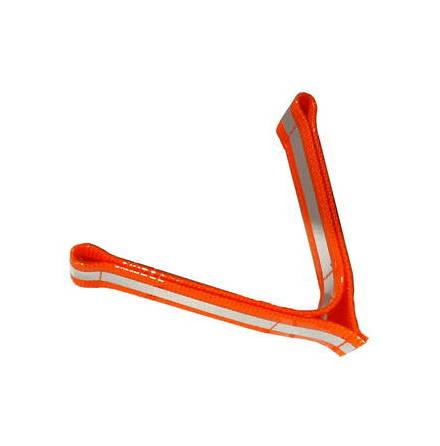 Barq reflexflärp 12cm orange Reflexflärp