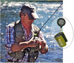 Smith Creek Rod Clip Green