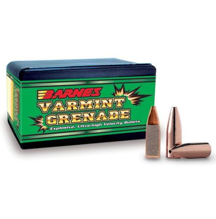 Barnes Kula .22 50gr Varmint Grenade HP FB #30198