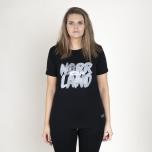 Great Norrland Gone Fishing 2 T-Shirt Black
