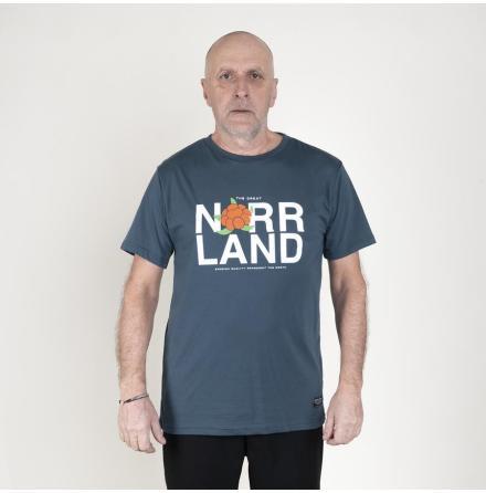 Great Norrland Represent T-Shirt Petrol