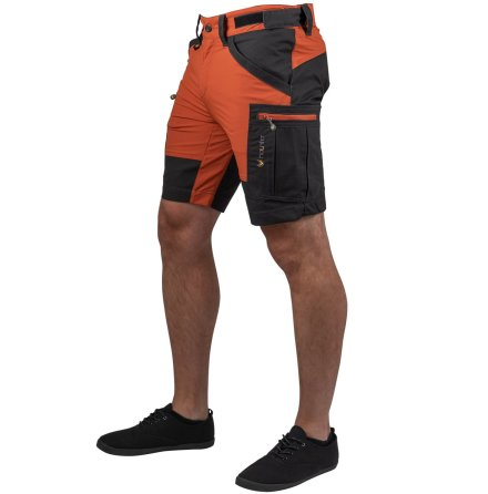 Haunter Vännäs Shorts Orange/Grå