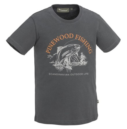 Pinewood FISH T-Shirt KID Green
