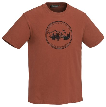 Pinewood CAMP T-Shirt Teracotta