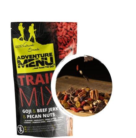 Adventure Menu Trailmix gojibär- beef jerky - pecannötter