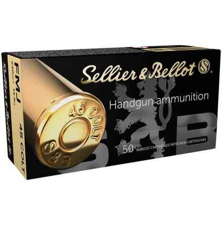 S&B 45 Long Colt FMJ 230gr 14,9g