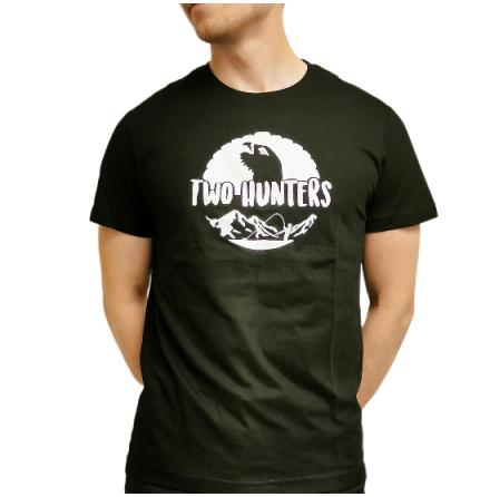 Two Hunters T-Shirt Logga Svart