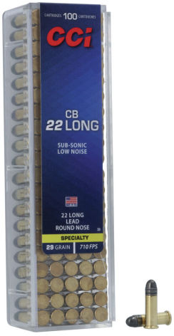 CCI .22LR CB Long