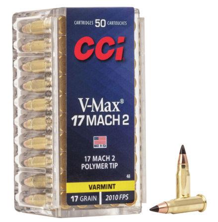 CCI 17 Mack 2 17 gr V-Max