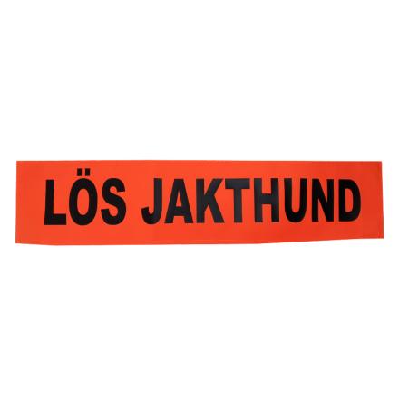 Skylt till bilen Lös Jakthund