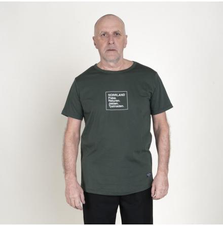 Great Norrland T-Shirt Tystnad - Dark Olive