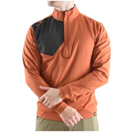 Haunter Ore Q-Zip Orange/Grå