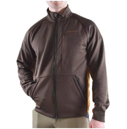 Härkila Borr Hybrid Fleece Slate Brown/Rustique Clay