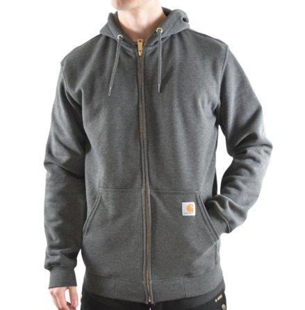 Carhartt Sweatshirt Zip Hooded Carbon Heather