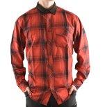 Härkila Driven Hunt Flanellskjorta - Red/Black