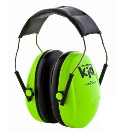 Peltor Hörselskydd Barn Neongrön