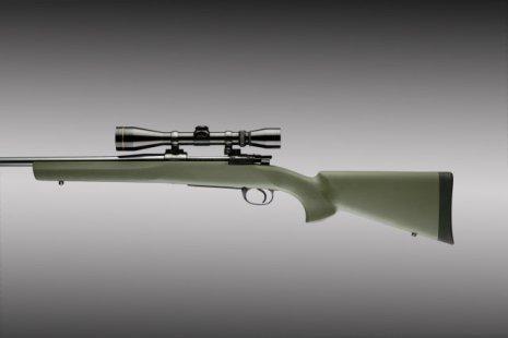 Hogue Remington 700 BDL SA Grön Kolv