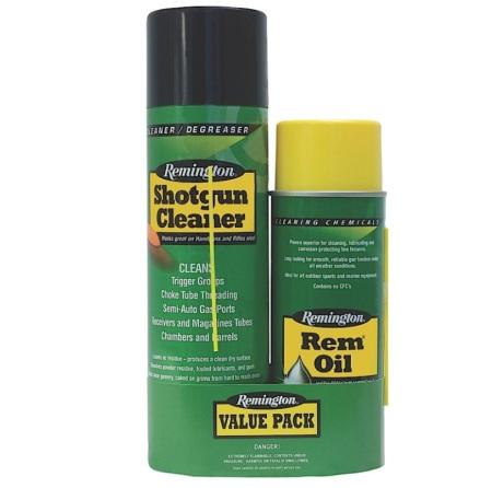 Remington Value Pack Rem Oil + Shotgun Cleaner